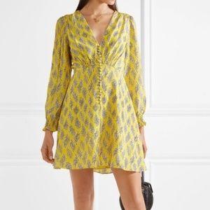 Saloni Eve Dress - Yellow